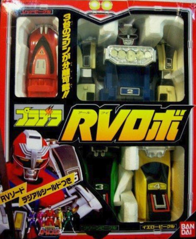 Bandai Power Rangers Turbo Carranger Megazord RV Action Figure Used