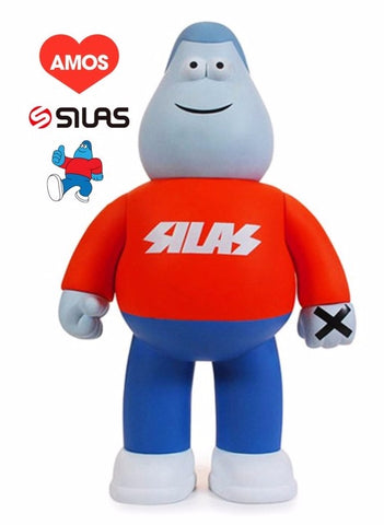 Amos Toys James Jarvis Silas Martin X Red Ver Vinyl Figure