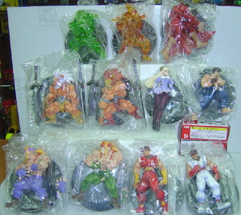 Max Factory Capcom Street Fighter Fighting Jam 11 Action Trading Figure Set - Lavits Figure