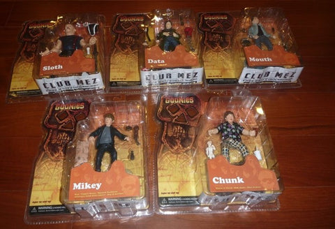 Mezco Toyz The Goonies 5 Trading Collection Figure Set Sloth Data Mouth Mikey Chunk - Lavits Figure