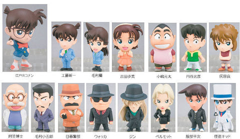 Popy Detective Meitantei Conan Mini Big Head 15+1 Secret 16 Trading Figure Set - Lavits Figure  - 1