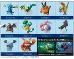 Bandai Pokemon Pocket Monster BW Best Wishes Clipping Figure Collection P2 10 Mini Figure Set - Lavits Figure