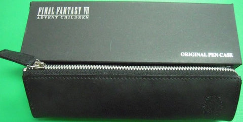 Authentic Final Fantasy VII 7 Advent Children Original Leather Pen Pencil Case Bag - Lavits Figure  - 1