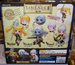 Orchid Seed Lineage II The Chaotic Throne 001 Kamael Darkelf Dwarf 3 Trading Figure Set - Lavits Figure  - 3