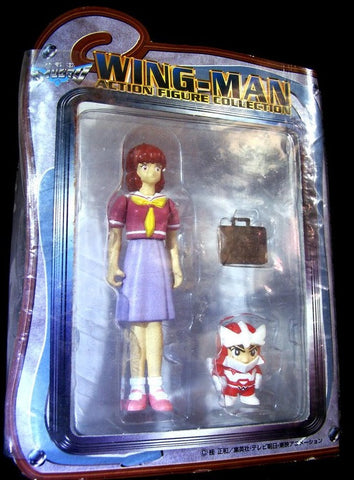 Banpresto 1999 Wing Man Miku Ogawa Action Collection Figure - Lavits Figure