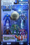 Takara 1999 1/18 Microman Magne Power Series Magnetic Army 5 Mini Action Figure Pack - Lavits Figure