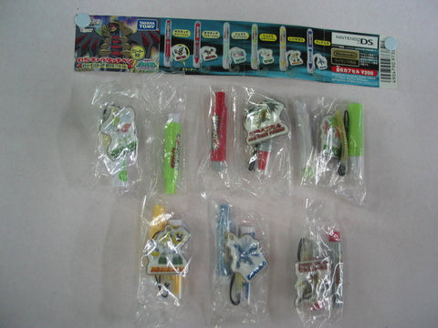 Takara Tomy Pokemon Pocket Monster Gashapon Capsule Nintendo DS Stylus Pen 6 Figure Set - Lavits Figure