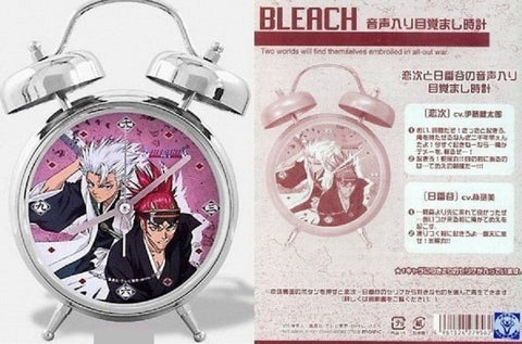 Authentic Bleach Voice Sound Alarm Clock Renji Abarai & Hitsugaya Toushirou Ver. - Lavits Figure