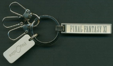 Authentic Final Fantasy XI 11 Play Online Metal Key Holder Chain - Lavits Figure