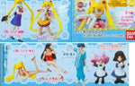 Bandai Pretty Soldier Sailor Moon Gashapon Capsule HGIF Part 5 6 Mini Figure Set - Lavits Figure