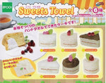 Epoch Sweet Towel Gashapon 6 Cake Mini Handkerchief Set - Lavits Figure