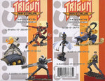 Yamato Story Image Trigun Maximum Yasuhiro Nightow 6 Trading Collection Figure Set Used - Lavits Figure  - 2