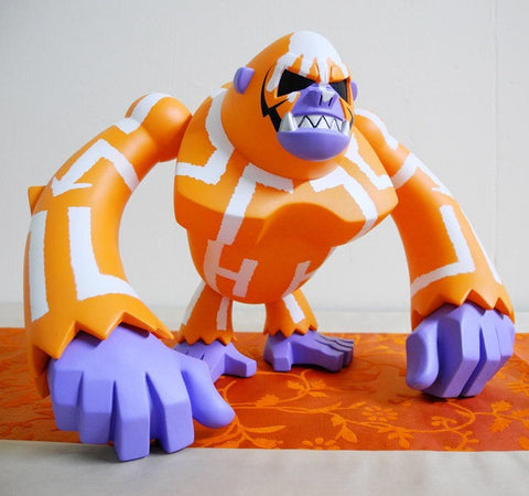 "Wonderwall 2007 Touma Bonga Konga Orange Ver. 7"" Vinyl Figure - Lavits Figure"