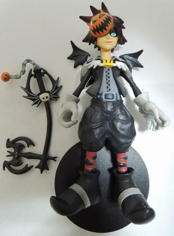 Tomy Disney Magical Collection 092 Sora Kingdom Hearts Halloween Town Ver Trading Figure - Lavits Figure