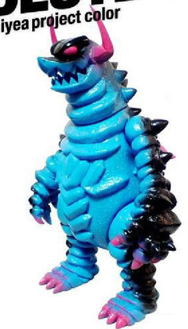 "Monstock 2008 Touma M.T.A. Project Kaiju Soukou Destdon Thiyea Project Blue Ver. 10"" Vinyl Figure - Lavits Figure"