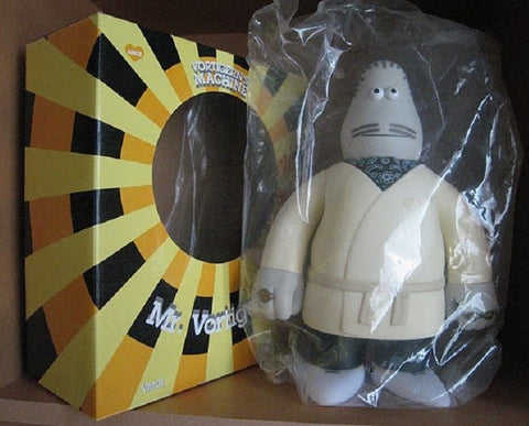 "Amos Toys James Jarvis Vortigerns Machine Mr. Vortigern White Ver. 12"" Vinyl Figure - Lavits Figure"