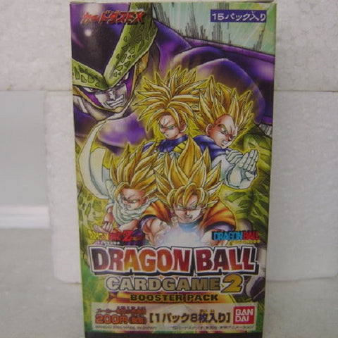 Bandai Dragon Ball DB DBZ Card Game Booster Pack Part 2 Sealed Box - Lavits Figure