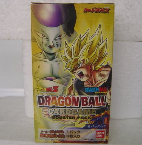 Bandai Dragon Ball DB DBZ Card Game Booster Pack Part 1 Sealed Box - Lavits Figure