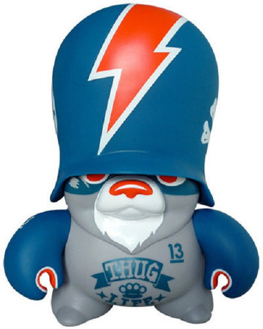 "adFunture 2007 123Klan Teddy Troops The Wankers Blue Ver. 10"" Vinyl Figure - Lavits Figure"