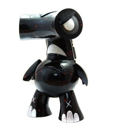 "Wonderwall 2008 Joe Ledbetter Hammerhead KFGU Kaiju For Grown Ups Death Black Ver 6"" Vinyl Figure - Lavits Figure"