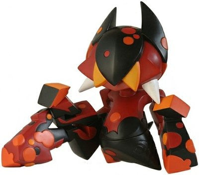 "Artoyz Originals 2006 Bonustoyz Mist Orus Red Black Ver. 12"" Vinyl Figure - Lavits Figure"