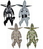 "360 Toy Group Futura Nosferatu Black Whie Light Green Camo 4 15"" Vinyl Figure Set - Lavits Figure  - 1"