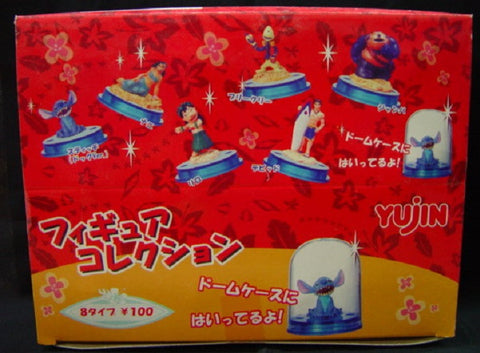 Yujin Disney Lilo & Stitch Trading Collection 8 Mini Figure Set - Lavits Figure  - 1