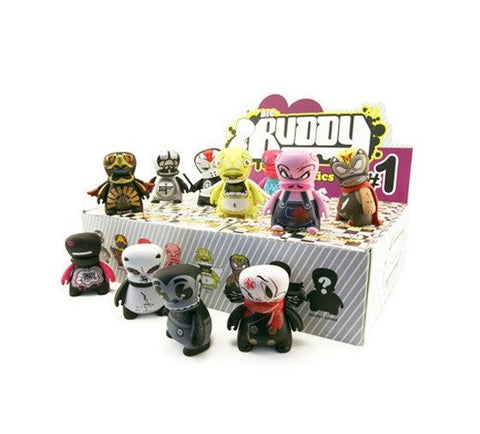"BIC Plastics Buddy Artist Series 1 Sealed Box 10 Random 3"" Vinyl Figure Set - Lavits Figure  - 1"