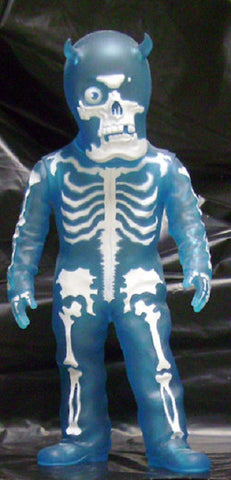 "Balzac Secret Base Skullman Diskunion Blue Ver. 8"" Vinyl Figure - Lavits Figure"
