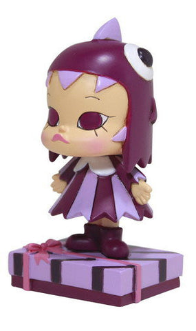 "Kenny's Work Kenny Wong x Monster Gear Little Molly The Painter Gift Purple Ver. 3"" Figure - Lavits Figure"