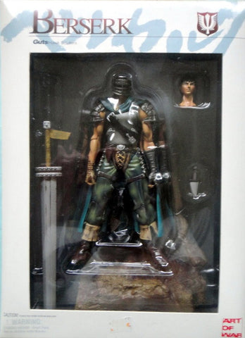 Art Of War Berserk Guts Limited Blue Cloak Ver. Action Figure Set - Lavits Figure  - 1