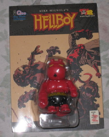 "Toy2R Qee Key Chain Collection Mike Mignola Hellboy 2.5"" Mini Figure - Lavits Figure"