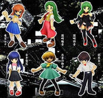 Spring Higurashi no Naku Koro Ni When They Cry 6 Trading Figure Set