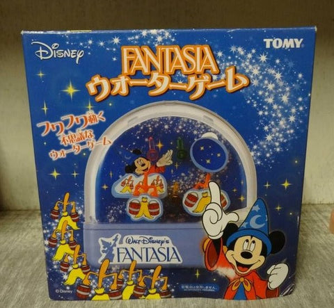 Tomy Disney Mickey Mouse Fantasia Handheld Water Play Game - Lavits Figure  - 1