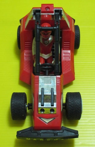 Bandai Power Rangers Maskman Red Mask With Spin Cruiser Action Figure Set - Lavits Figure
