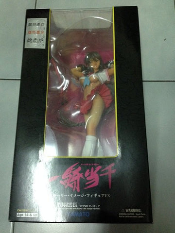 Yamato 1/7 Ikki Tousen Dragon Destiny Kanu Unchou Red Dress Limited Pvc Figure - Lavits Figure  - 1