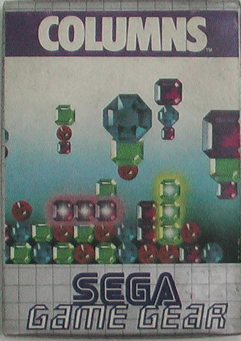 Sega 1991 Game Gear Columns Puzzle Game Japan Ver. - Lavits Figure  - 1