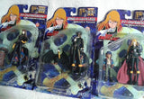 Jesnet Leiji Matsumoto Galaxy Express 999 Queen Emeraldas 3 Action Figure Collection Set - Lavits Figure  - 1