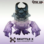 "One-Up Touma Skuttle X Monster Skill Of Shadow Purple Ver. 5"" Vinyl Figure - Lavits Figure  - 1"