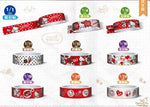 Sanrio Hello Kitty Taiwan 7-11 Limited 40th Anniversary 15mm Paper Tape 20 Complete Set - Lavits Figure  - 4
