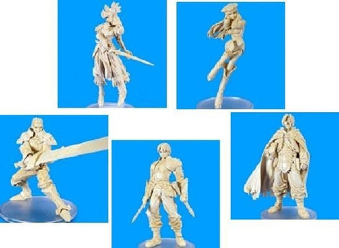 Square Enix Products Valkyrie Profile Trading Arts 5+1 Secret 6 Ivory Figure Set - Lavits Figure  - 1