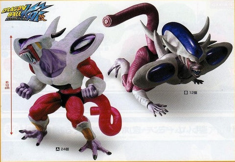 Banpresto Dragon Ball Kai DX Creatures Freeza 2 Trading Collection Figure Set - Lavits Figure