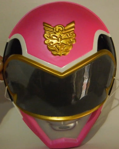 Toei Power Rangers Megaforce Goseiger Pink Fighter Plastic Mask - Lavits Figure
