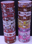 Sanrio Hello Kitty Taiwan 7-11 Limited 40th Anniversary 15mm Paper Tape 20 Complete Set - Lavits Figure  - 1