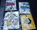 Konami MMS Busou Shinki 4 Metal Plastci Key Chain Patch Pin Set - Lavits Figure  - 2