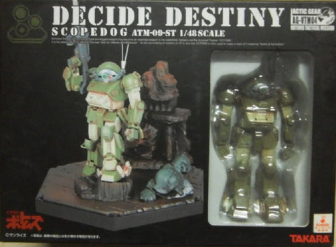 Takara 1/48 Votoms Decide Destiny Actic Gear AG-VTM04 Scopedog ATM-09-ST Action Figure Set - Lavits Figure  - 1