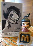 Kenny's Work 2013 Kenny Wong Molly 7th Anniv. Statue Salute To The Great Artist Series TTF Limited Wooden Dali Figure - Lavits Figure  - 2