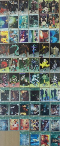 Bandai 1997 Square Enix Final Fantasy VII 7 Trading Collection Cards Part 2 58 Full Set - Lavits Figure