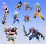 Bandai Dragon Ball Z DBZ HG + Plus Action Pose EX 8 Mini Trading Collection Figure Set - Lavits Figure
