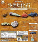 Epoch Earth Life Journey Gashapon Living Fossil 6 Trading Figure Set - Lavits Figure